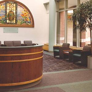 Hospital of St. Raphael Entrance Lobby