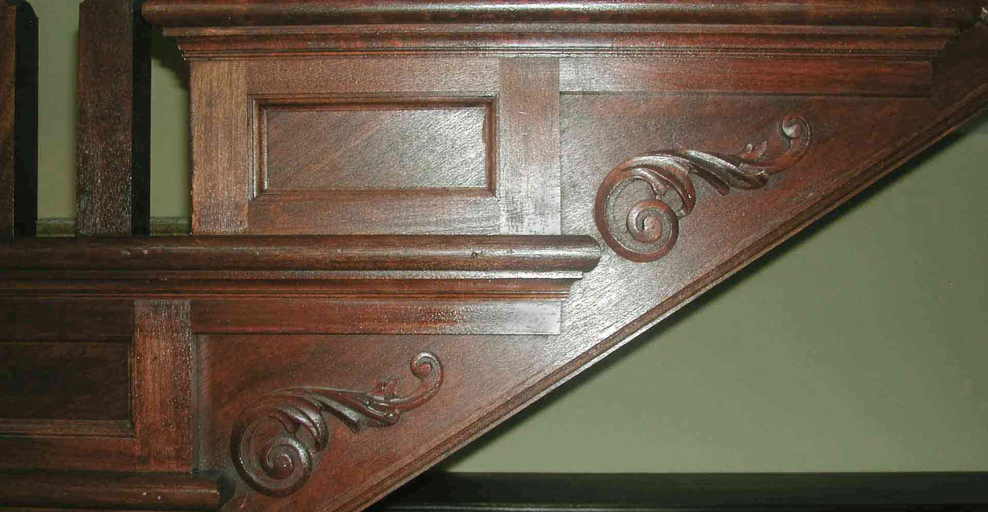 UNION LEAGUE CAFE - STAIR DETAIL
