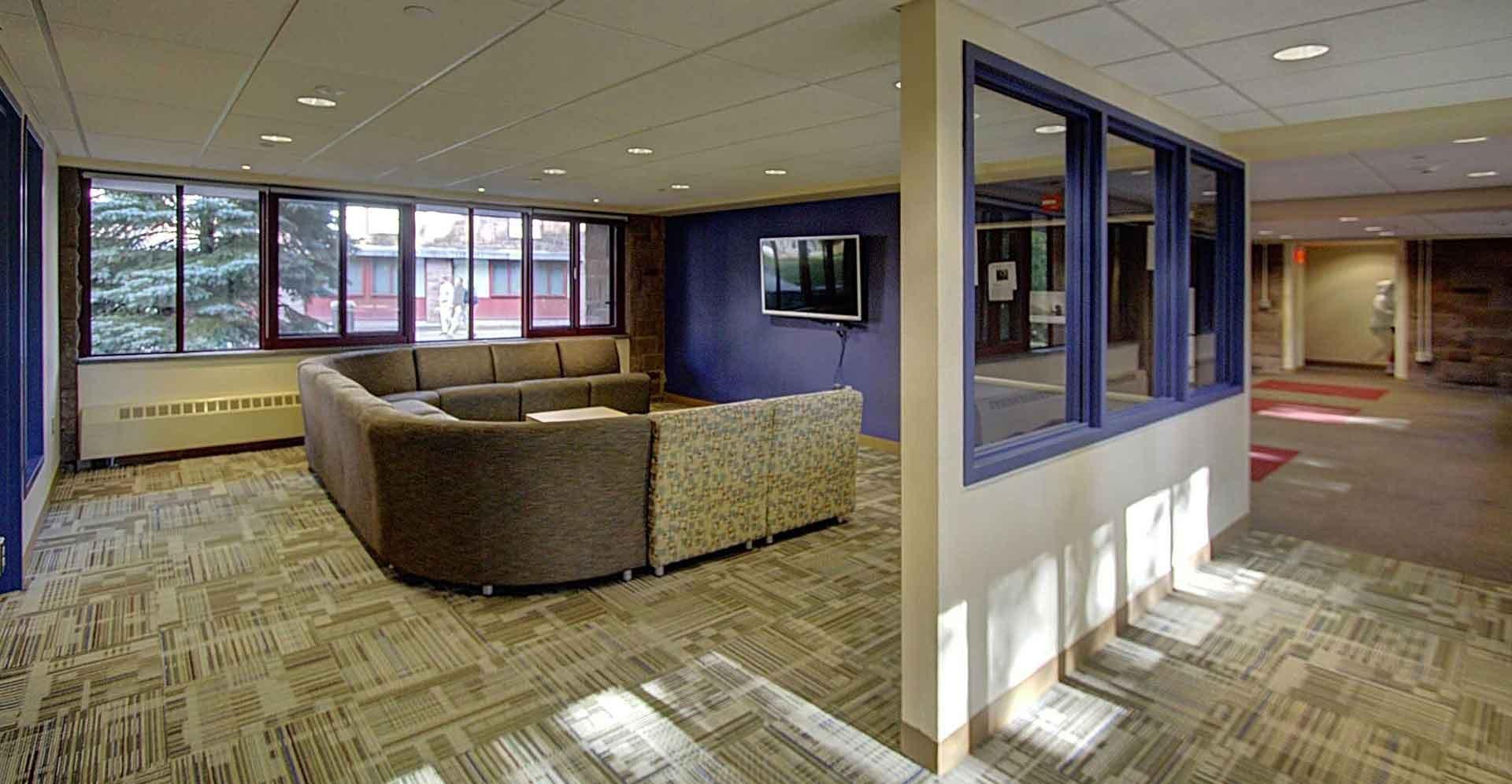 Wesleyan-Butterfield-Dorm Student Lounge
