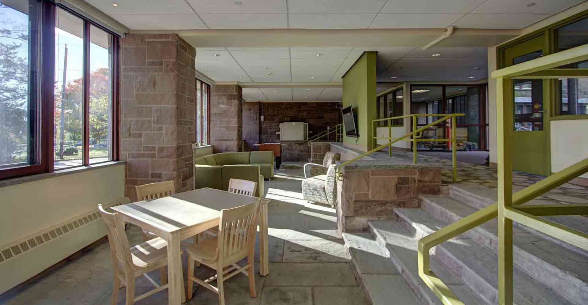 Wesleyan-Butterfield-Dorms Student Lounge