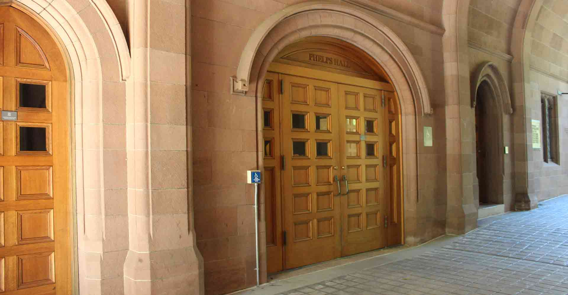 Yale University - Old Campus - Phelps Hall