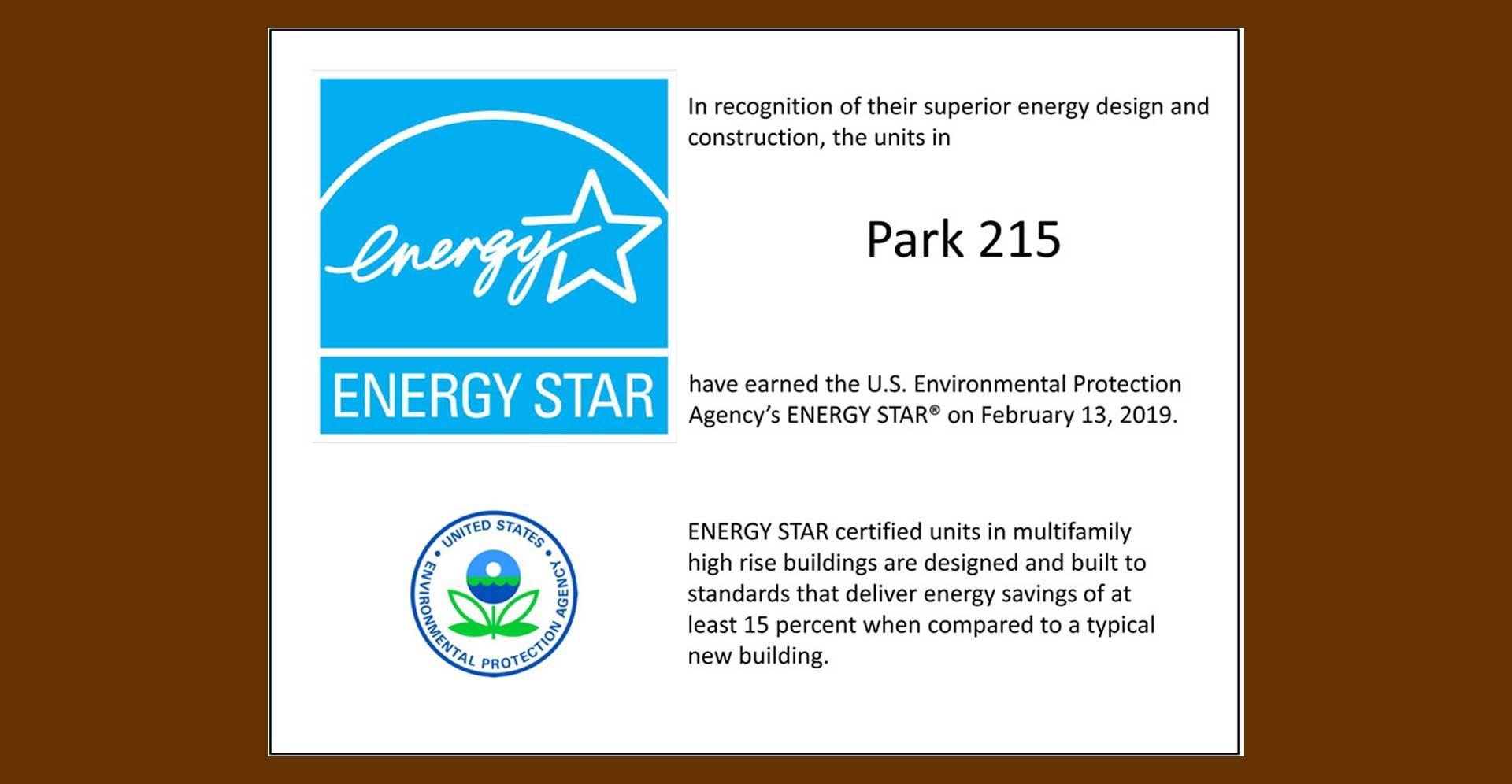 Park215-Energy-Star