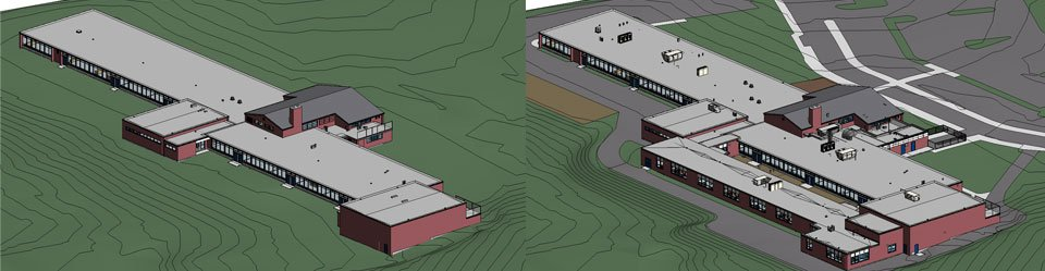 before-after-holland-hill-school-revit