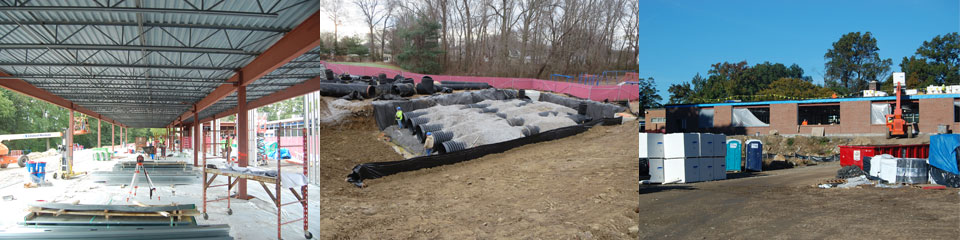 Holland-Hill-construction-steel-framing-stormwater-retention