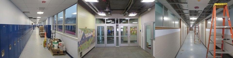 Holland-Hill-construction-corridor-storefront