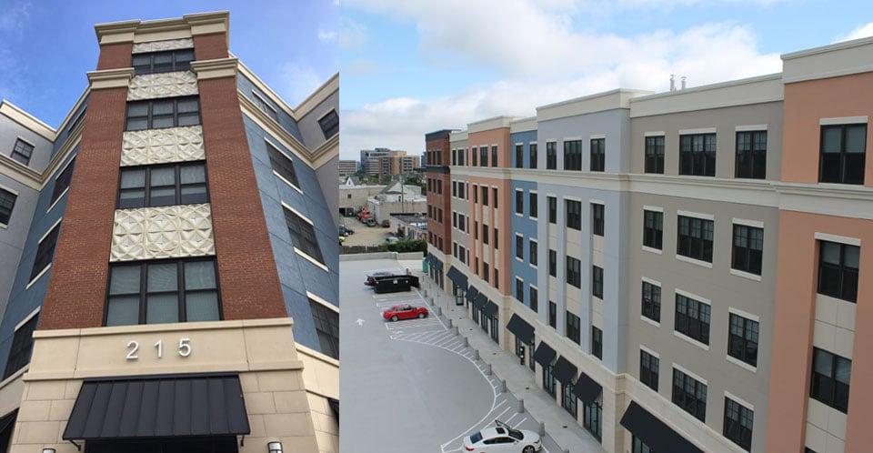 Park 215 corner ornament parking deck