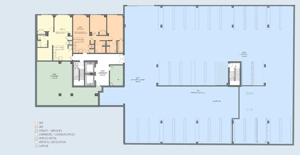 Yonkers-Stratus-on-Hudson-garage-level-floor-plan